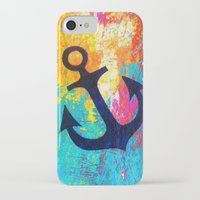 anchor iPhone & iPod Cases featuring Anchor by Sophia Buddenhagen