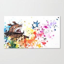 """Blown away"" Canvas Print"