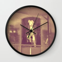 Monsieur Lapin Wall Clock