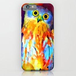 Barking Owl iPhone Case