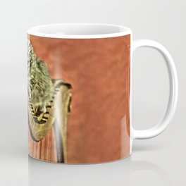 Music was my first love - a cat and harp Coffee Mug