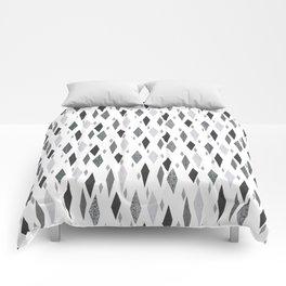 Danish Diamond in Grey Comforters
