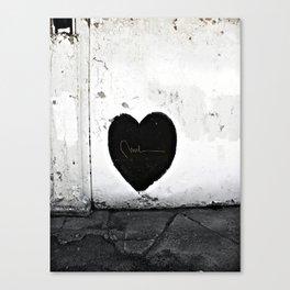 Street Heart Canvas Print
