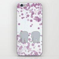 elephants iPhone & iPod Skins featuring Elephants by Ehud Neuhaus