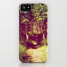 Narrow is the Path iPhone Case