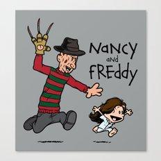 Nancy and Freddy Canvas Print