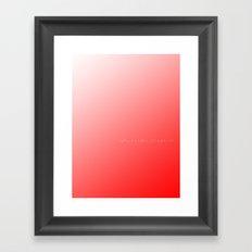 Solution Framed Art Print