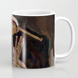 """Egon Schiele """"The Lyricist"""" Coffee Mug"""
