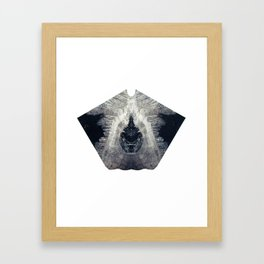 Diamond Lust Framed Art Print