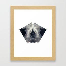Diamond Lust Framed Art Print