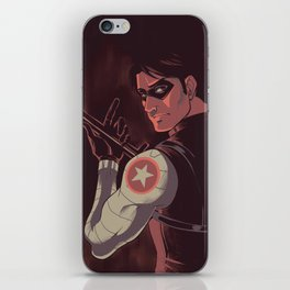 He is a ghost iPhone Skin