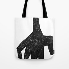 The hand Tote Bag