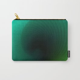 """""""Wave surf"""" geometric blue minimal gradient Carry-All Pouch"""