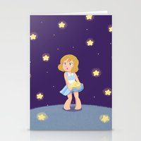 hetalia Stationery Cards featuring Starry Girl by gohe1090