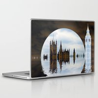 politics Laptop & iPad Skins featuring Manipulated Politics by Shalisa Photography