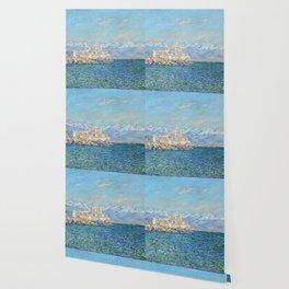 Claude Monet - Antibes, Afternoon Effect Wallpaper