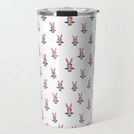 Louise Belcher pattern Travel Mug