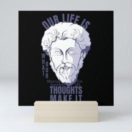 MARCUS AURELIUS QUOTE Mini Art Print