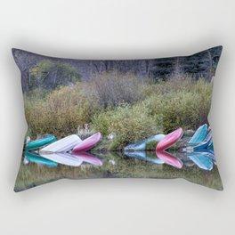 Downtime at Beaver Lake Rectangular Pillow