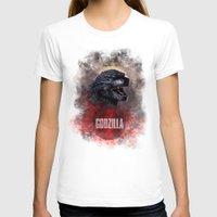 godzilla T-shirts featuring Godzilla by Denda Reloaded