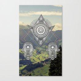 Am Schweiz Canvas Print