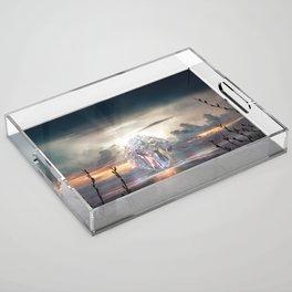 Aura Acrylic Tray