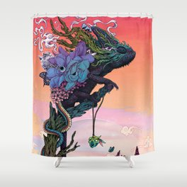 Phantasmagoria Shower Curtain