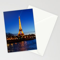 Eiffel Tower and Bokeh. Stationery Cards