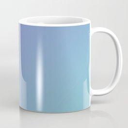 Calm Ocean View gradient color Coffee Mug
