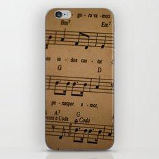 Music Tabs iPhone & iPod Skin