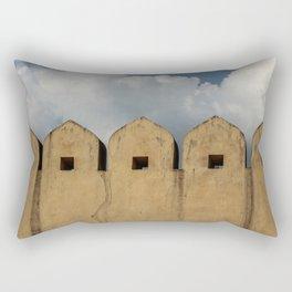 Clouds Over Windows Rectangular Pillow