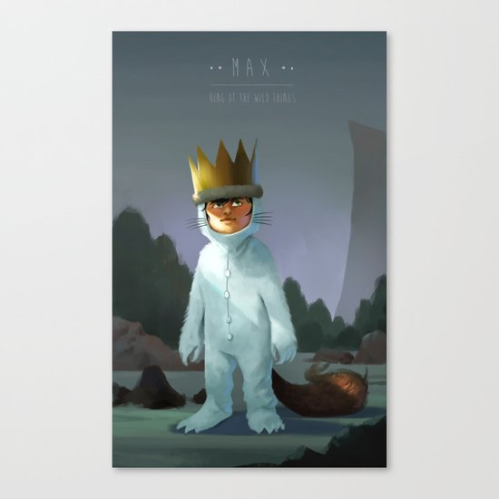 Kings of the Wild Things Canvas Print