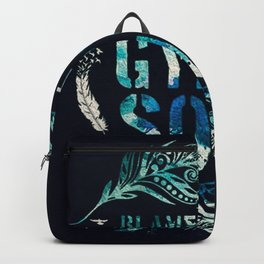 blame it to my gipsy soul Backpack