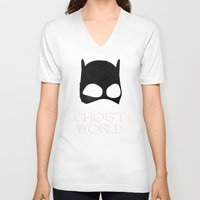 ghost world V-neck T-shirts featuring Ghost World by Bill Pyle