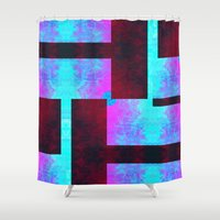 vagina Shower Curtains featuring Sybaritic II by Aaron Carberry