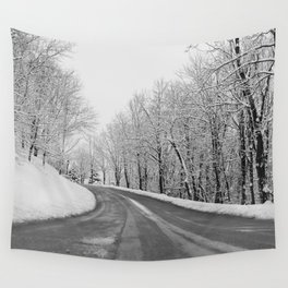 First Snow Wall Tapestry
