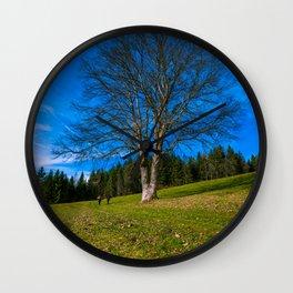 Walk under the tree - Austria Wall Clock