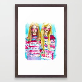 Before your very eyes Framed Art Print