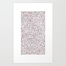 The Brain Number Three Art Print