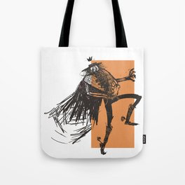 skeleton lord mexican style Tote Bag