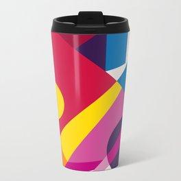 Abstract modern geometric background. Composition 6 Metal Travel Mug
