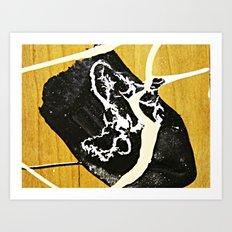 Tar Puddle Art Print