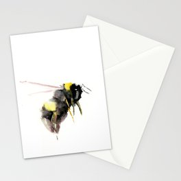 Bumblebee, bee art, bee design Stationery Cards