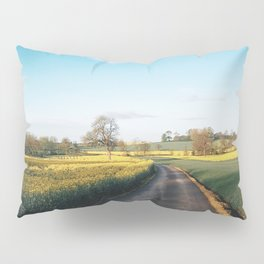 Early morning in derbyshire Pillow Sham