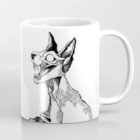 evil queen Mugs featuring evil queen by vasodelirium