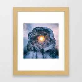 Hexx Framed Art Print