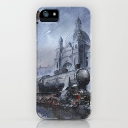 A train to Lwow iPhone Case