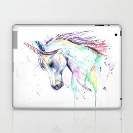 Colorful Unicorn Watercolor Painting - Kenzie's Unicorn Laptop & iPad Skin
