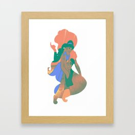 A Whole New World Framed Art Print