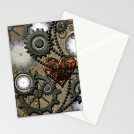 Steampunk II Stationery Cards